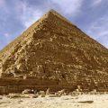 Pyramid at Giza in Egypt.