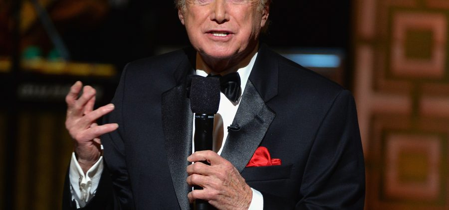 Regis Philbin speaks onstage at Spike TV's Don Rickles: One Night Only on May 6, 2014 in New York City. Philbin was on television for more than half a century.