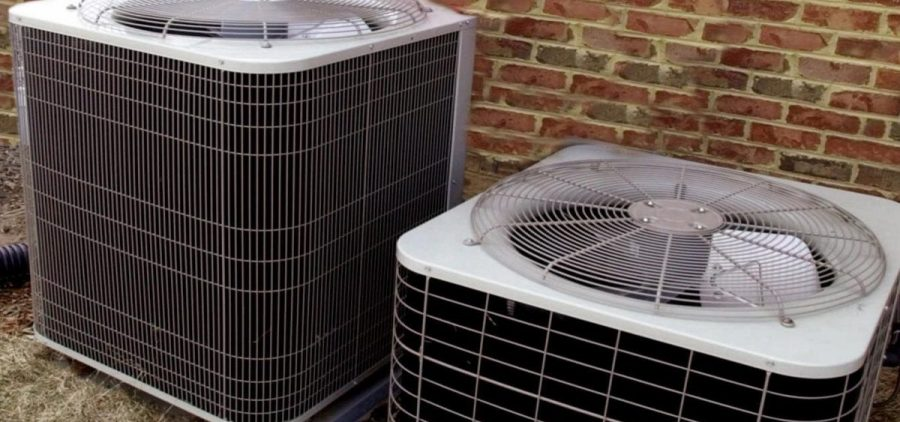 Heating and air conditioning external heat pumps