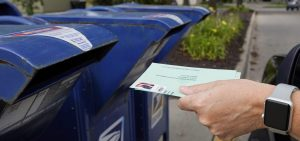 The House passed legislation Saturday to provide $25 billion to the Postal Service to help safeguard voting by mail ahead of the November election.