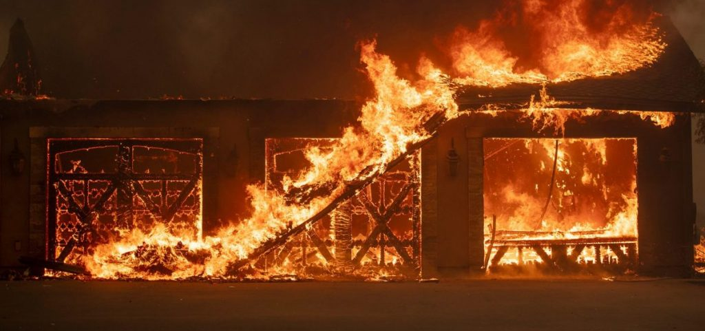 The five largest fires in California history have occurred since 2003, a sign that climate change is making extreme wildfires more frequent.