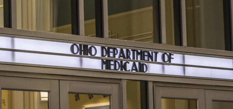 The Ohio Department of Medicaid building