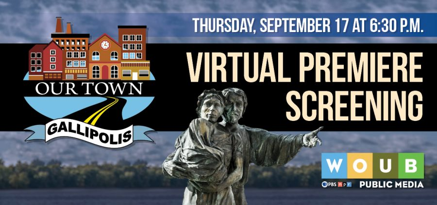 Our Town Virtual Screening Graphic