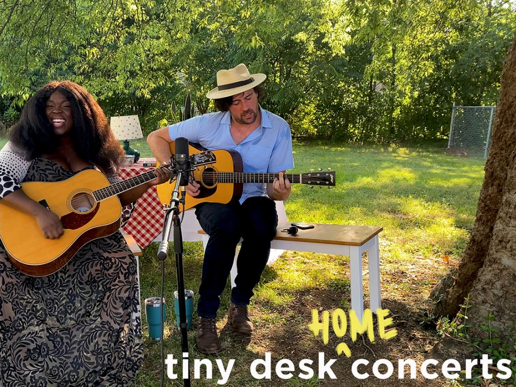 Yola plays a Tiny Desk home concert.