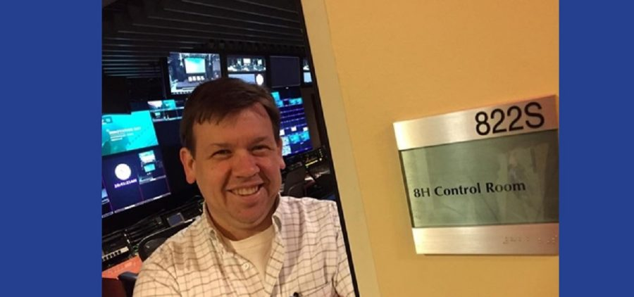 Ken Neben in studio at MSNBC