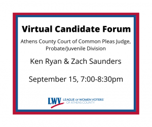 Virtual Candidate Forum