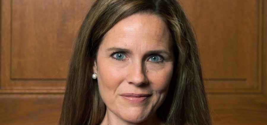 Judge Amy Coney Barrett, who  is expected to be President Trump's nominee to the Supreme Court, pictured in 2018.