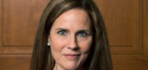 Judge Amy Coney Barrett, pictured in 2018, is seen as a front-runner to replace the late Justice Ruth Bader Ginsburg on the Supreme Court.