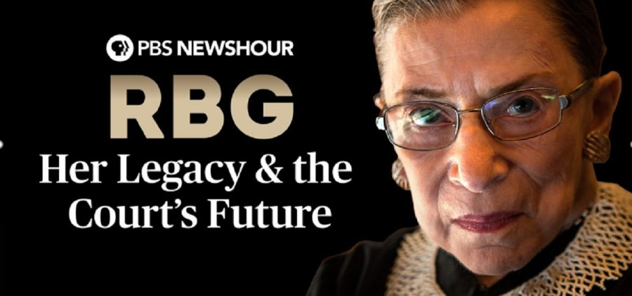Ginsburgh NewsHour Special Graphic