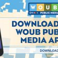 Download WOUB App Promotion