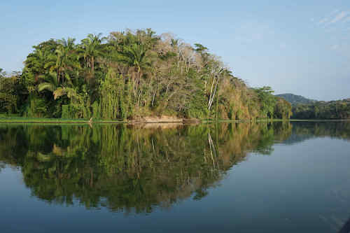 The Chagres River. Panama