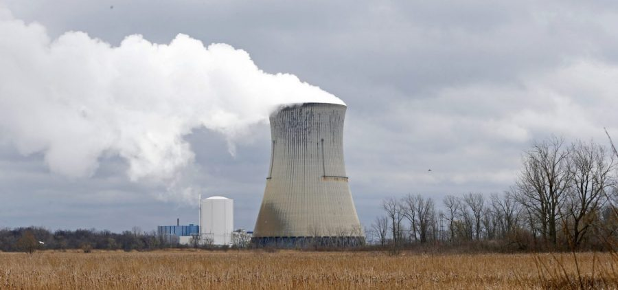 FirstEnergy Corp.'s Davis-Besse Nuclear Power Station in Oak Harbor, Ohio.