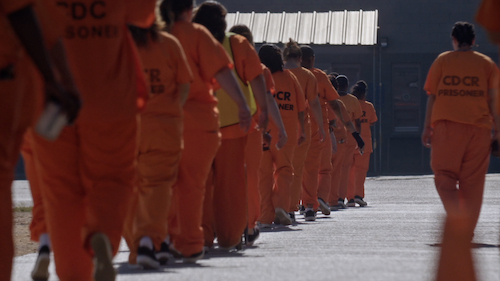 California Department of Corrections & Rehabilitation (CDCR) people in orange