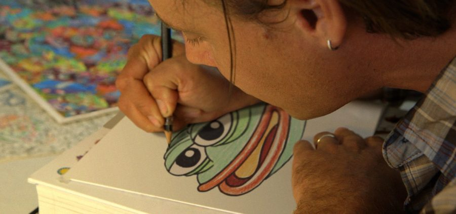 Artist and Pepe the Frog creator Matt Furie draws Pepe