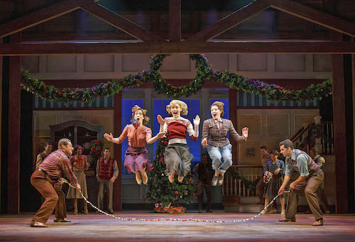 """The cast of """"Irving Berlin's Holiday Inn - The Broadway Musical."""""""