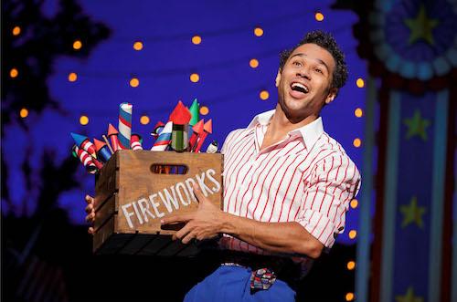 """Corbin Bleu in """"Irving Berlin's Holiday Inn - The Broadway Musical."""""""
