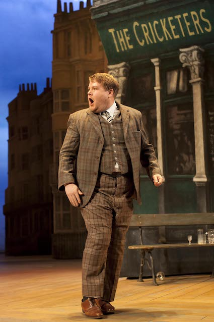 James Corden in ONE MAN TWO GUVNORS at The National Theatre, 2011