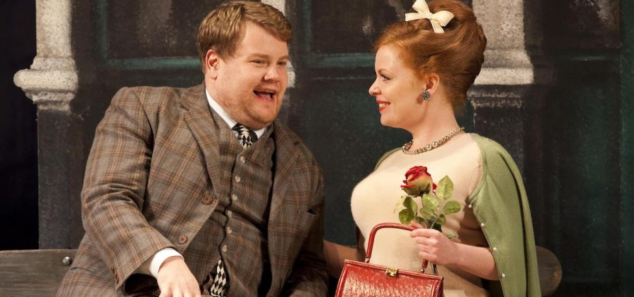 James Corden and Suzie Toase in ONE MAN TWO GUVNORS at The National Theatre, 2011