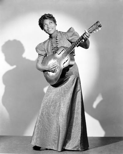 IRCA 1940: Vocalist/guitarist Sister Rosetta Tharpe
