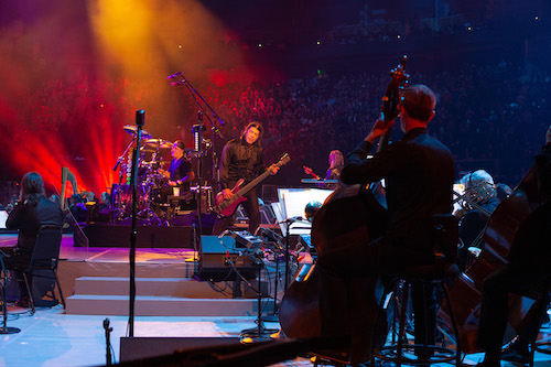 Metallica joined forces with the San Francisco Symphony