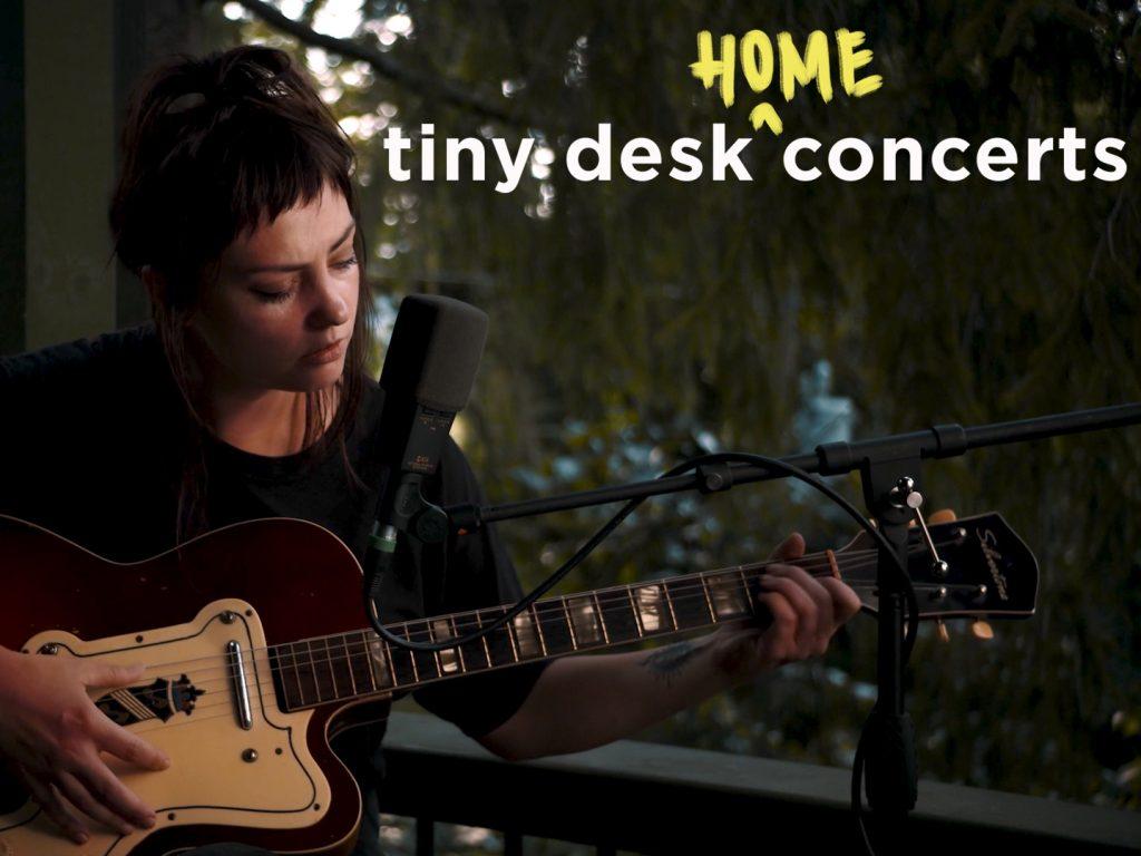 Angel Olsen plays a Tiny Desk (home) concert.