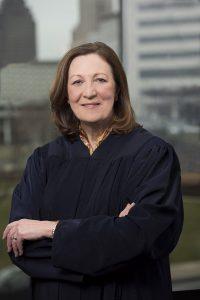 Tenth District Court of Appeals Judge Jennifer Brunner