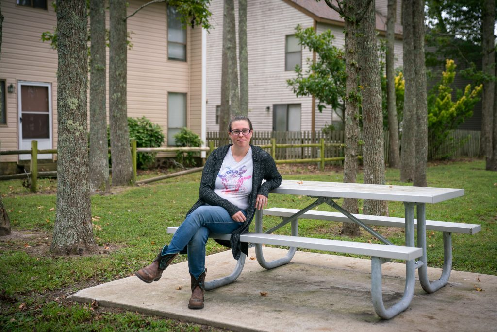 Kerrie Obbink's home in Virginia Beach, Va., flooded after she and her family moved in. Today, she's a real estate agent who says she refuses to help clients purchase houses in a flood plain.