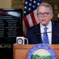 Gov. Mike DeWine holds a coronavirus press conference on September 15, 2020.