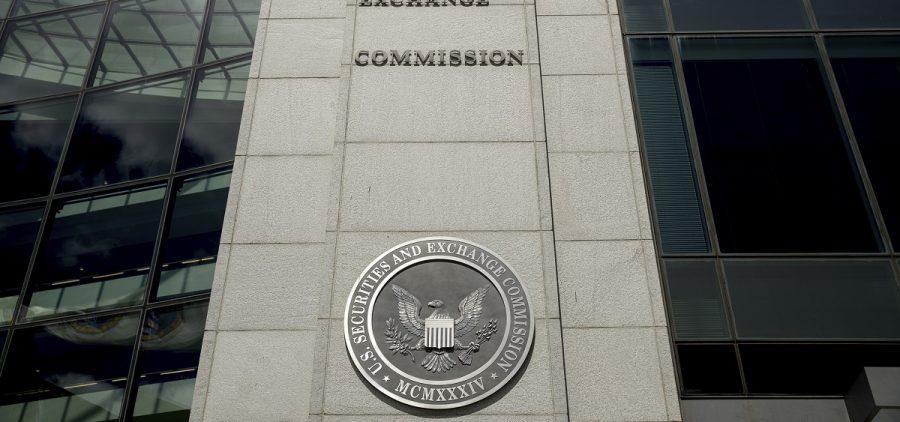 The SEC building in Washington, D.C.