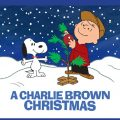 Charlie Brown and Snoopy in the snow