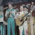 Little Jimmy Dickens on the Grand Ole Opry, Nashville, c.1955.