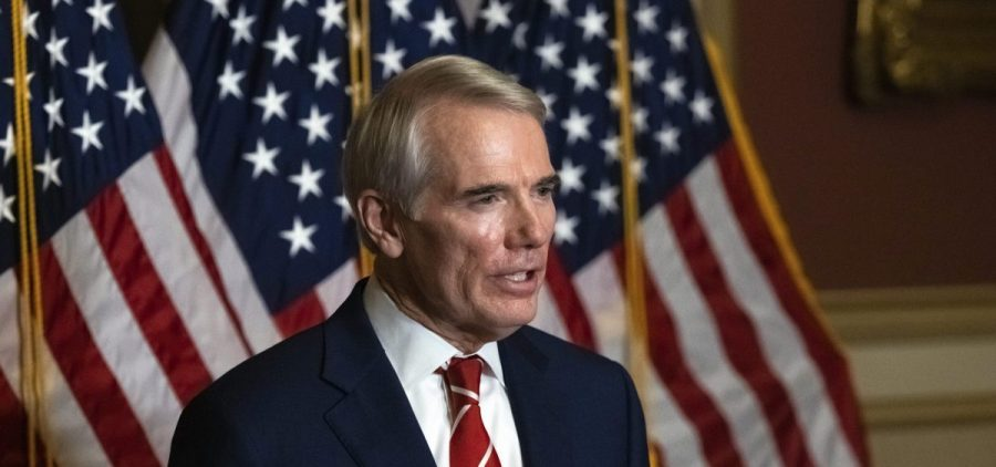 Sen. Rob Portman, R-Ohio, has enrolled in a phase three clinical trial for a COVID-19 vaccine.