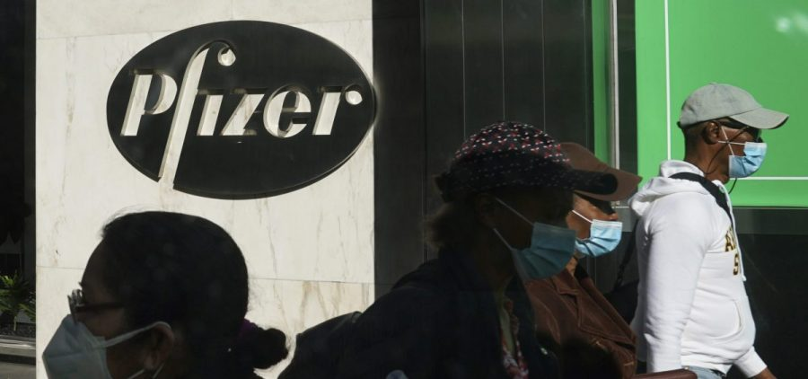 Pfizer plans to file within days with the Food and Drug Administration to allow emergency use of its COVID-19 vaccine.