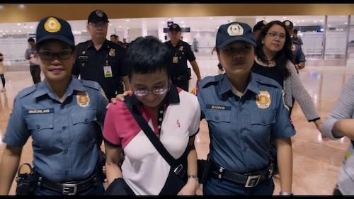 Maria Ressa in custody