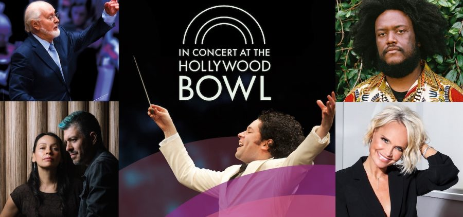 IN CONCERT AT THE HOLLYWOOD BOWL ad