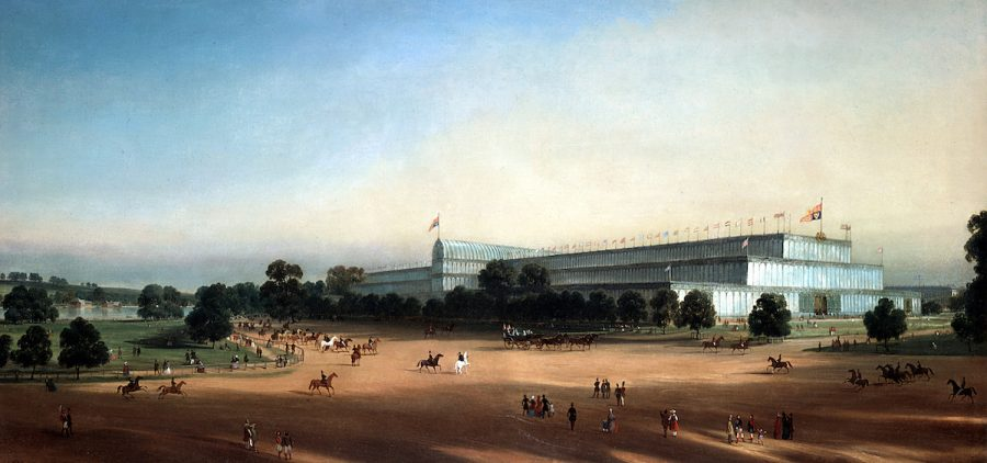 Crystal Palace, Hyde Park, London, built for the Great Exhibition of 1851