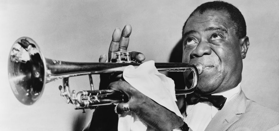 trumpeter Louis Armstrong