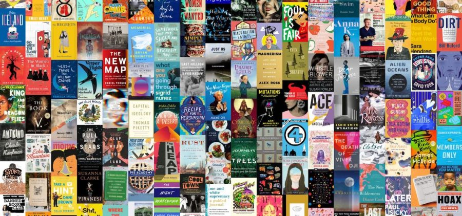 Image of 50 plus book covers