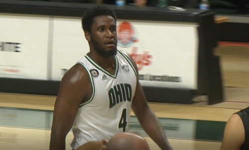 Ohio Men's Basketball Dwight Wilson II