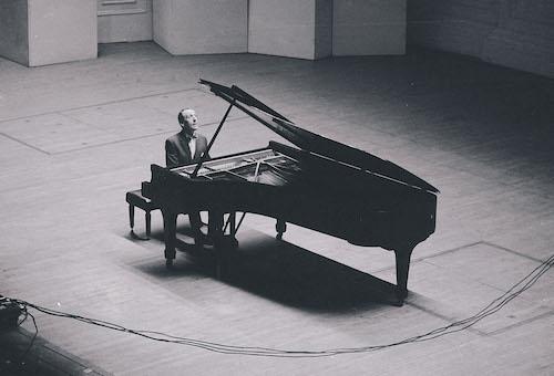 Russian Pianist Vladimir Horowitz.