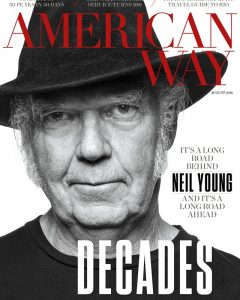Neil Young Magazine Cover