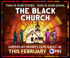 """Ad for """"The Black Church: coming February 2021"""