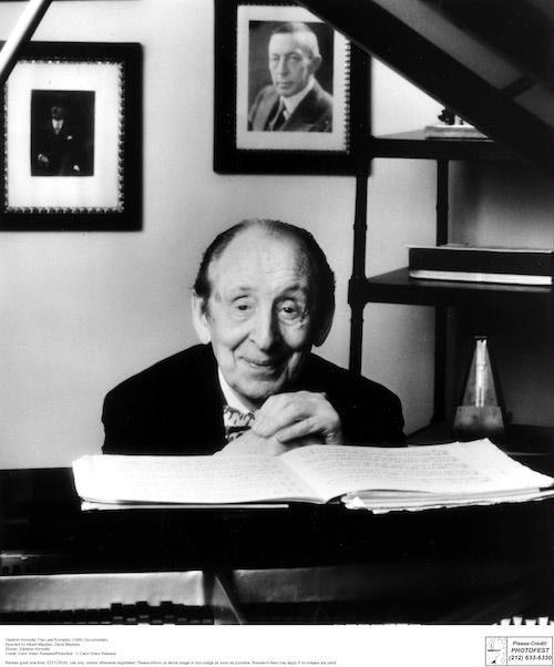 Russian Pianist Vladimir Horowitz