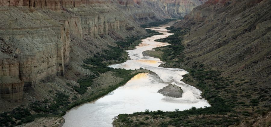 Arial view of the Colorado River