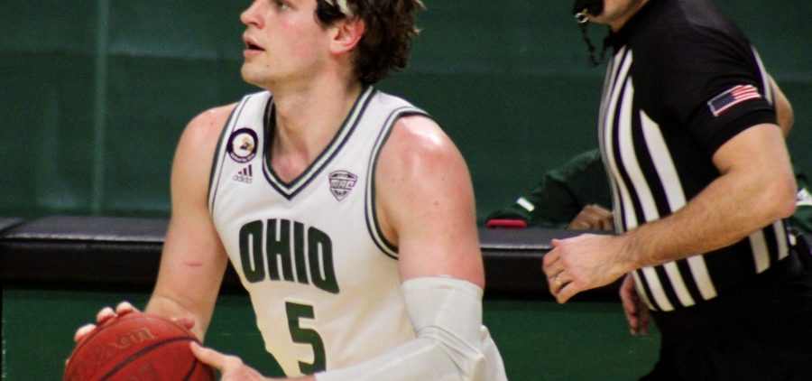 Ohio Men's Basketball Ben Vander Plas