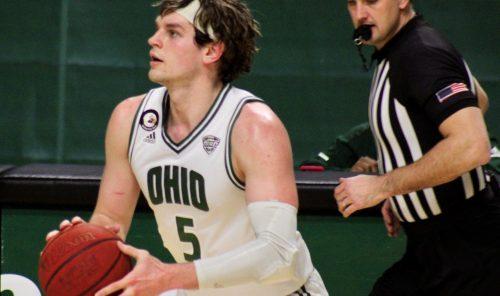 Ohio Men's Basketball Ben Vander Plas