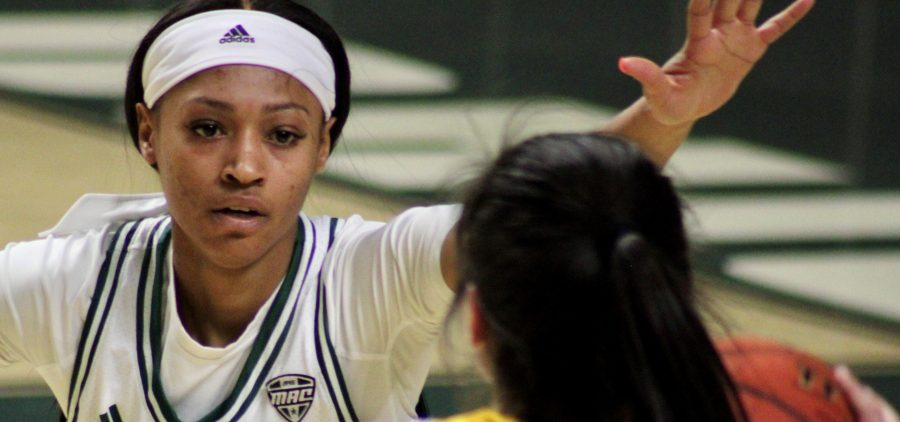 Ohio Women's Basketball CeCe Hooks