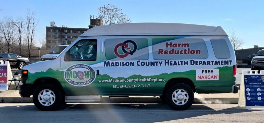 The Madison Co. Health Department's Narcan mobile unit