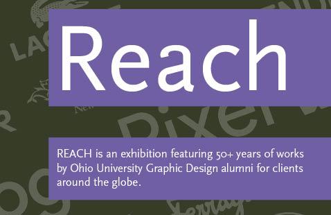 """Reach"" graphic design exhibition"