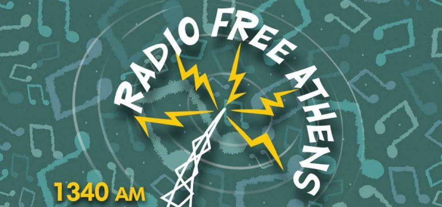 Radio Free Athens Logo